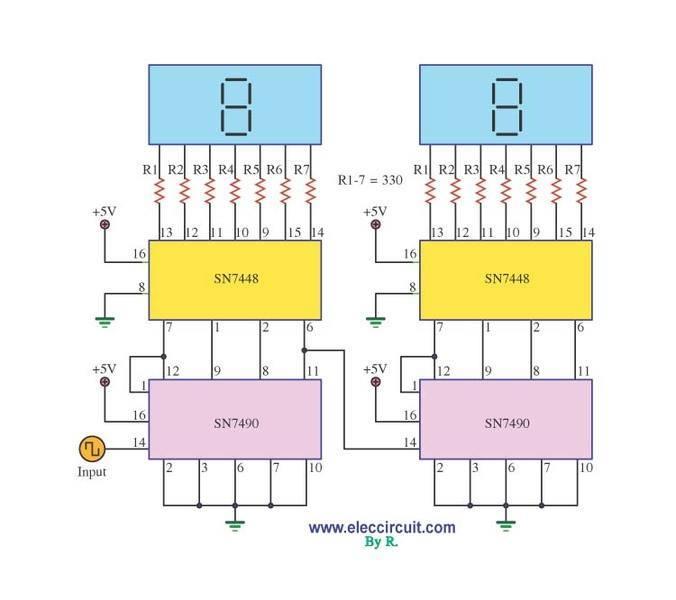 0 60 Counter Circuit Diagram - X5fmtl5.casei.store •  Counter Circuit Diagram on counter flow, counter sign, counter display, counter cartoon, counter application, counter animation,