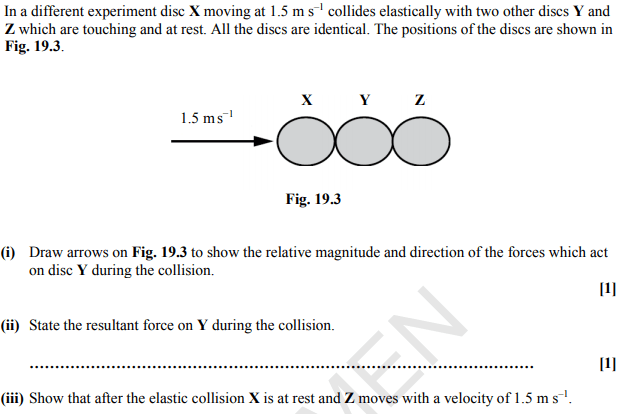 Conservation Of Momentum Elastic Collisions Physics Forums
