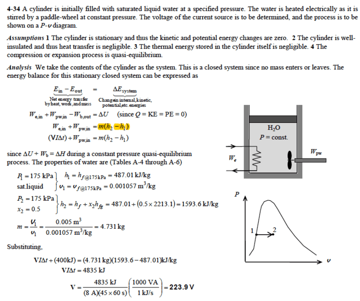 thermodynamics data how to use