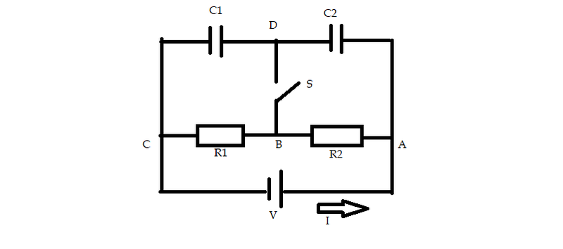 find the voltage in the parallel resistor