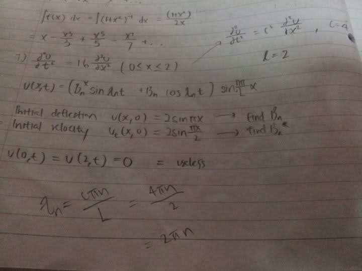 PDE wave equation  | Physics Forums