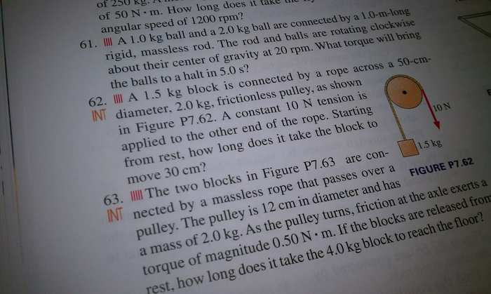 physics homework #62