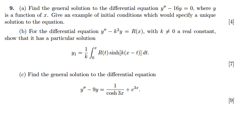 Solving this second order linear differential equation | Physics Forums