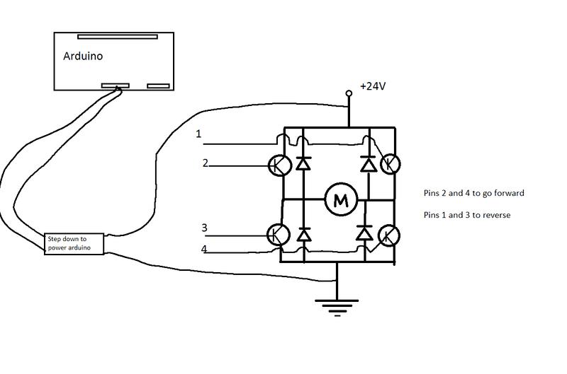 Making an Arduino controlled H-bridge | Physics Forums