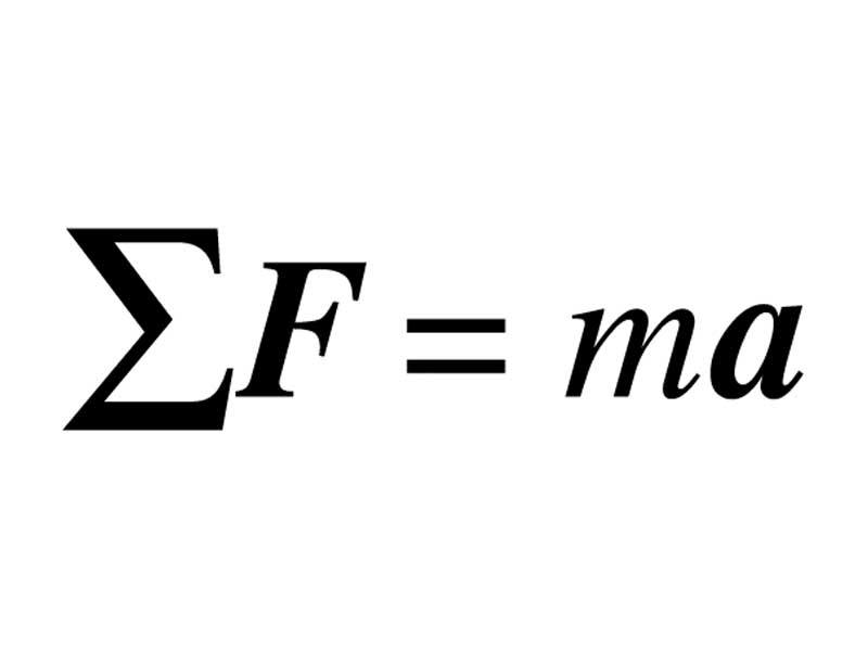 Newton S Second Law How To Write It Physics Forums