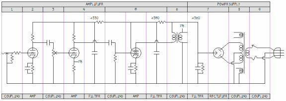 the field model of energy transfer in actual circuits