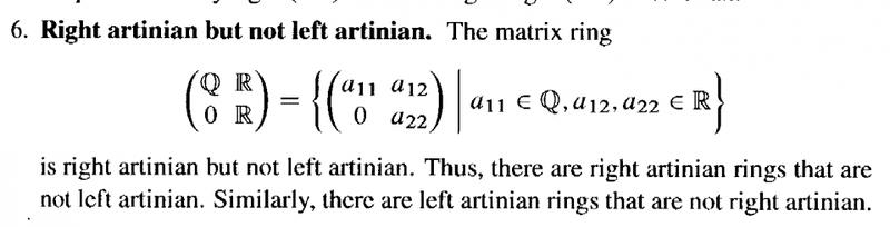 Left Ideals In A Matrix Ring