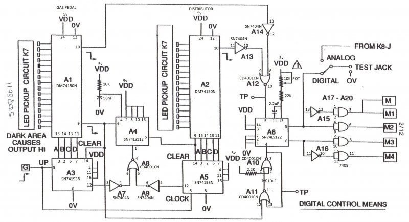 multiplexer as a position sensor  how