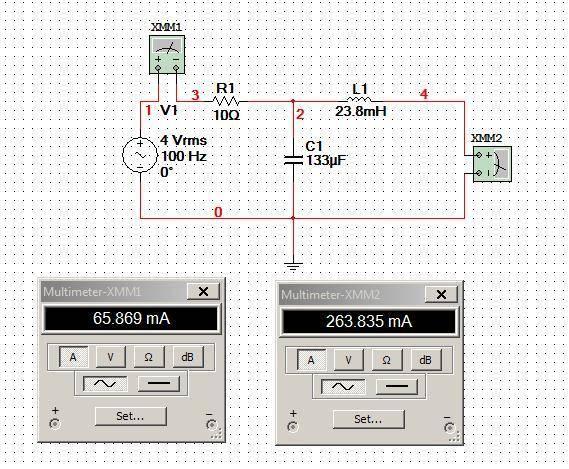Mesh Analysis Of An AC Circuit