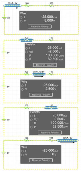 CircuitResistorsCurrentVoltageReversalPolarity.png