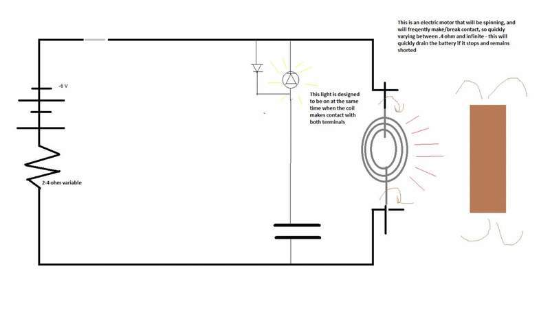I need help designing an overload protection circuit
