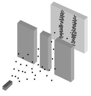 Double slit experiment eletrons detector on.jpg