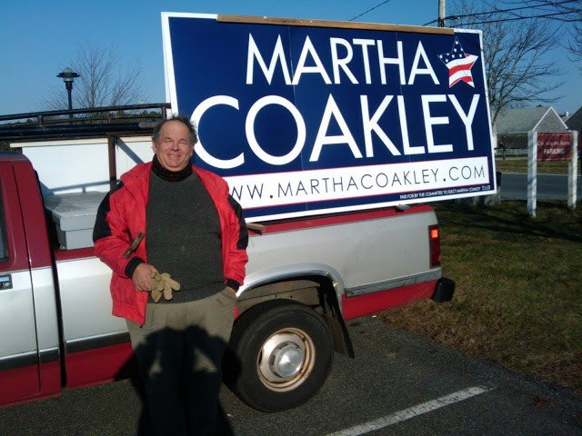 Ed+Mc+Manus+red+truck+with+large+Martha+Coakley+campaign+sign+at+Harwich+polls..jpg