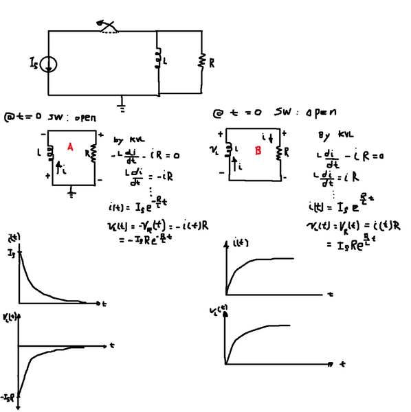 natural response rl circuit