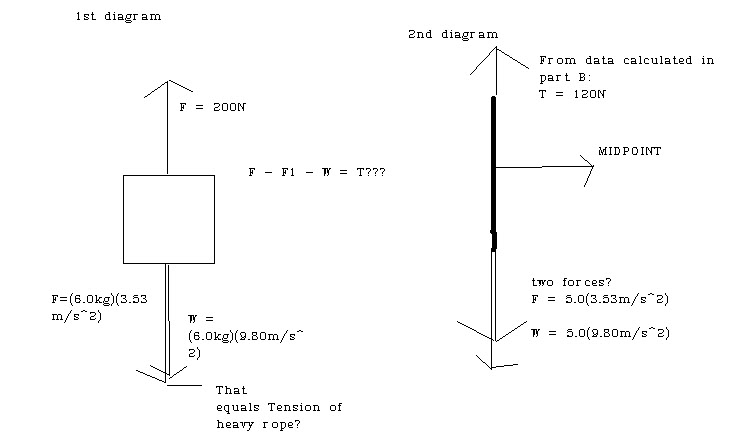 Newton's Law and a rope | Physics Forums