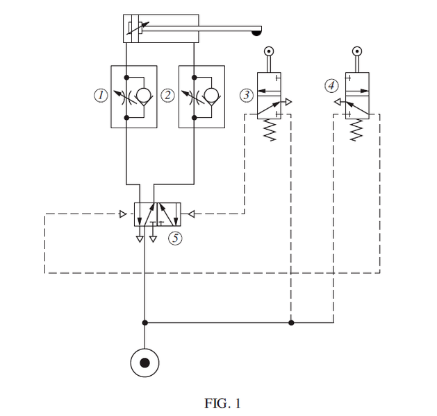 pneumatic circuit diagram question physics forums rh physicsforums com circuit diagram hp pavilion 15-f272wm circuit diagram elements