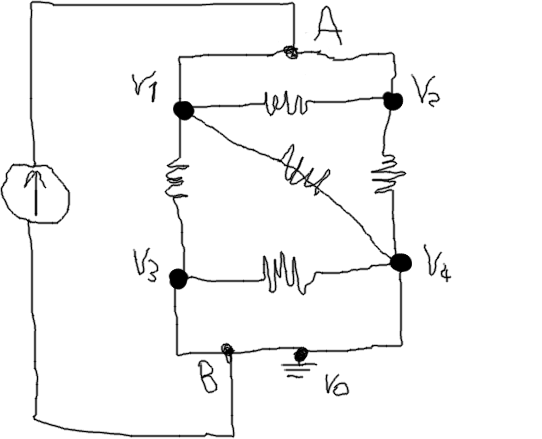 resistance equivalent to a circuit