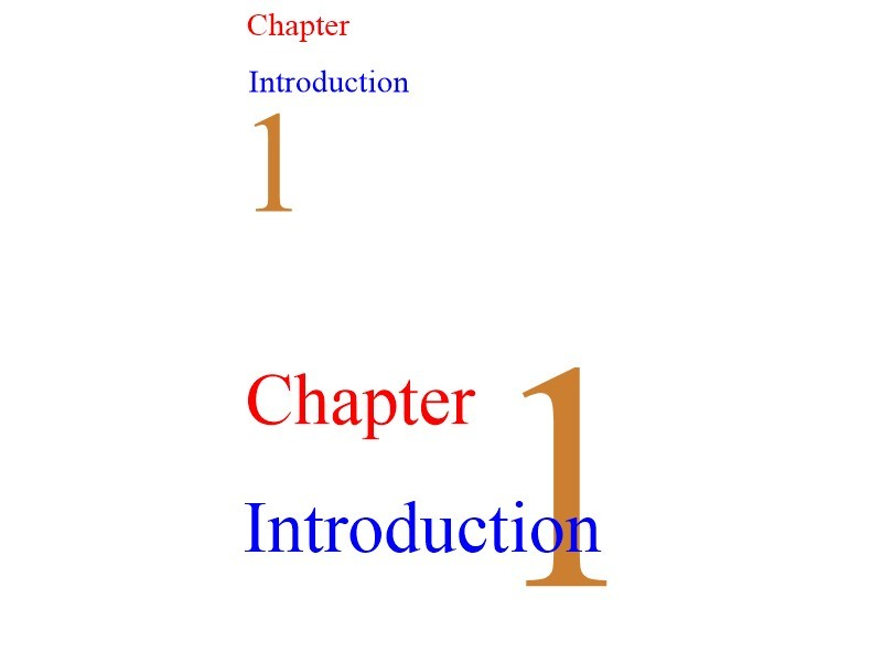 How can I get this chapter heading style (screenshot in post