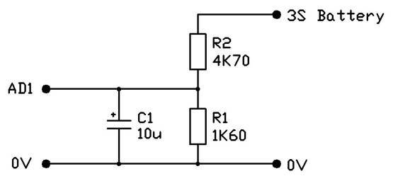 capacitor in voltage divider