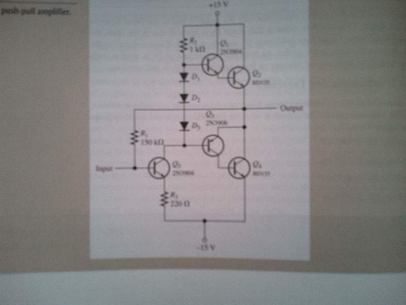 Power Push-Pull Amp ( class AB ) | Physics Forums