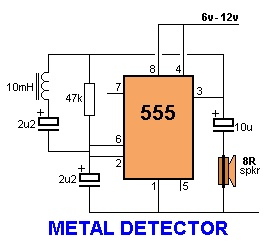 Simple metal detector circuit physics forums view attachment 208644 ccuart Gallery