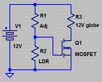 Simple LDR Circuit problem... | Physics Forums