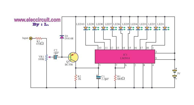 can i use a relay to wire dc lights to a speaker? physics forums,Dc Wiring Diagram Led Display