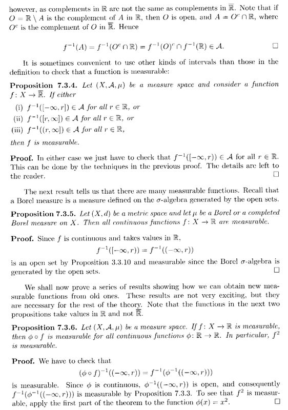 Lindstrom - 3 - Section 7.3 ... Measurable Functions ... Part 3 .png