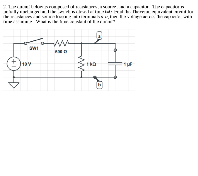 thevenin\u0027s equivalent circuit for capacitor physics forums