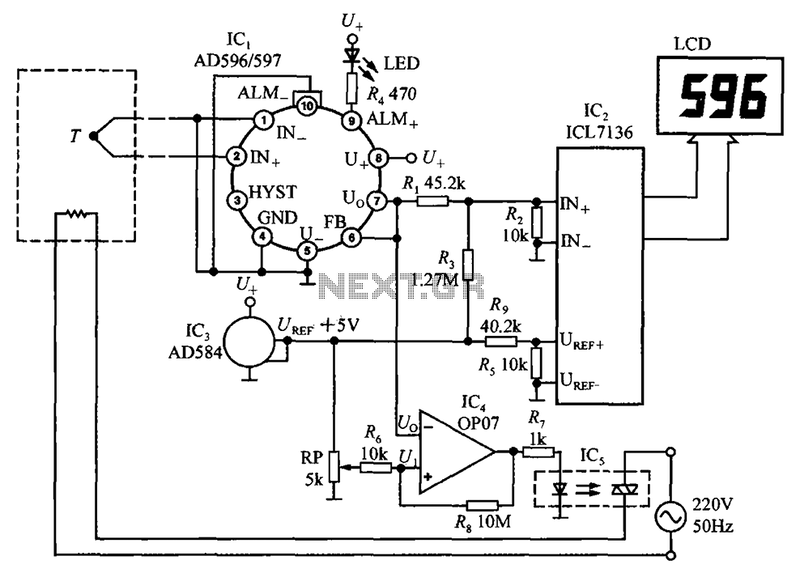 mocouple-cold-junction-compensator-AD596-597-constitute-a-circuit-diagram-of-Temperature-Monitor.png