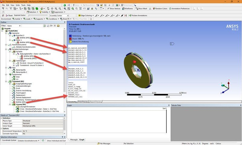 Coupled Thermal-structural analysis in ANSYS Workbench | Physics Forums
