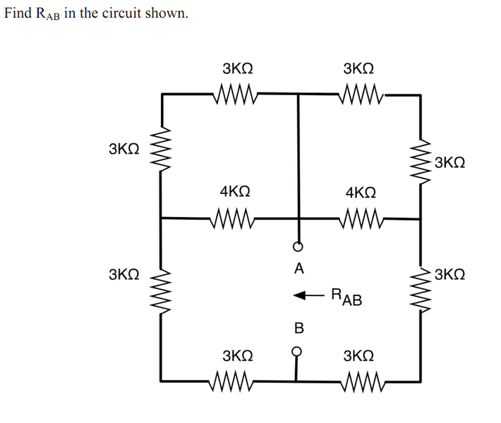 need help finding equivalent resistance in a circuit