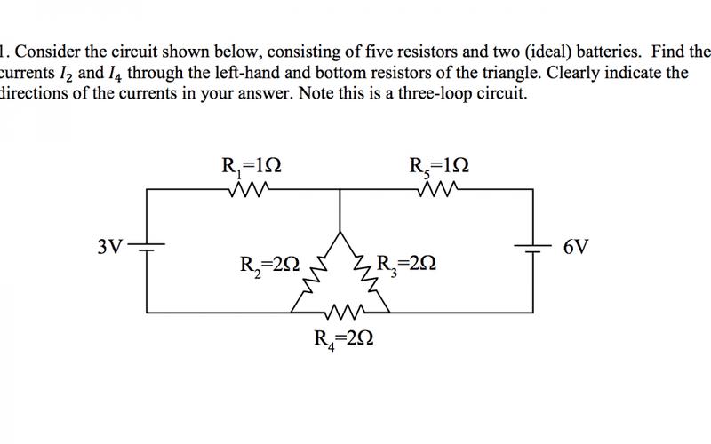 Groovy 3 Loop Circuit 5 Resistors 2 Batteries Physics Forums Wiring Database Ilarigelartorg