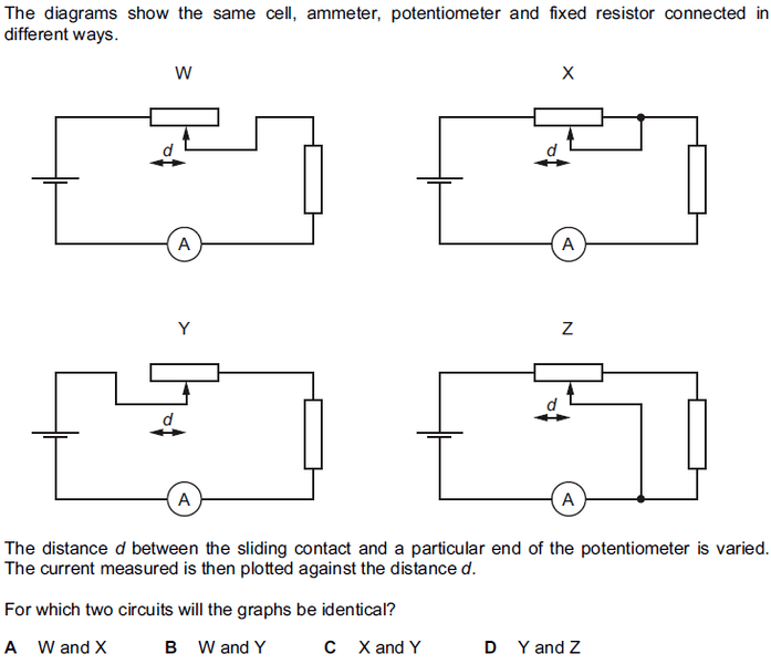 Potentiometer in circuit | Physics Forums
