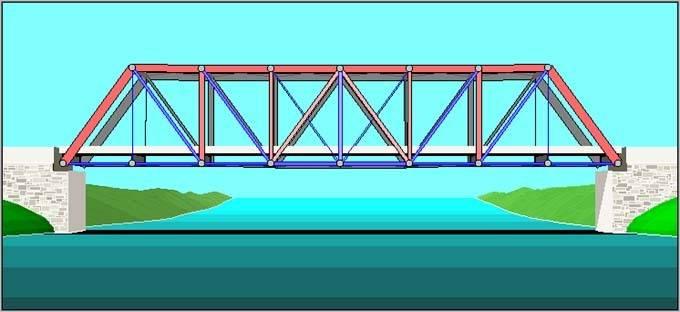 how to build ak truss bridge