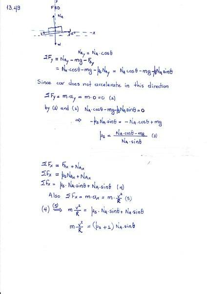 Banked Curve-Determine smallest static coefficient of friction