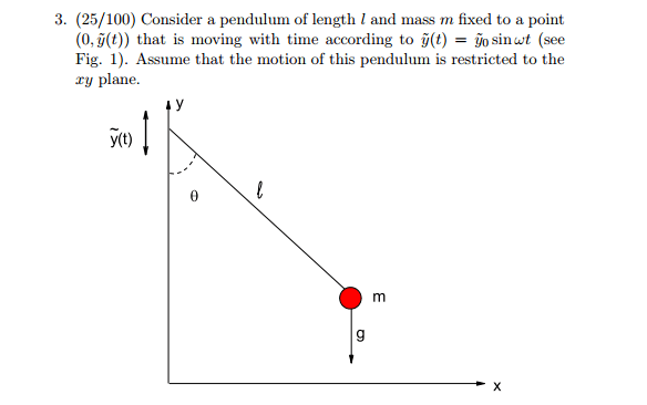 Finding the Euler-Lagrange equation for a special pendulum