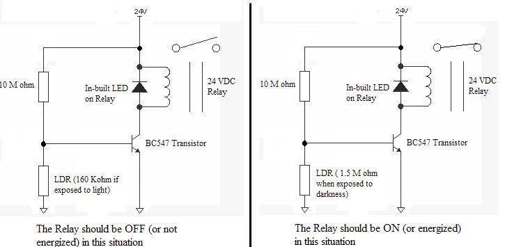 How to Activate Relay using Transistor Physics Forums