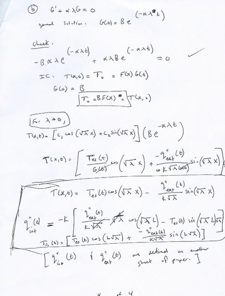 Solving the heat equation with complicated boundary conditions