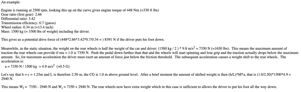 Straight-Line Vehicle Motion problem | Physics Forums