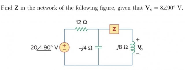 AC Circuit Analysis- Find Impedance | Physics Forums