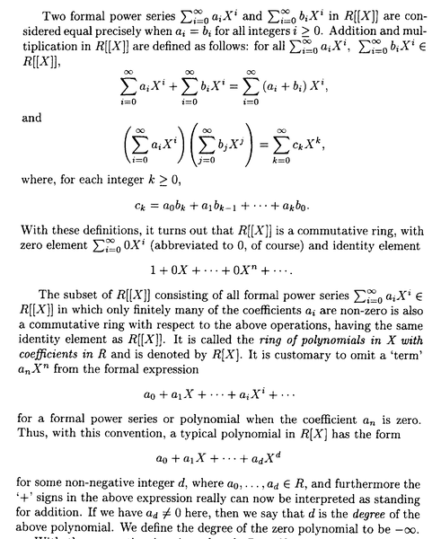 Sharp - 2 - Defn of R[X] and R[[X]] ... PART 2 ... .png