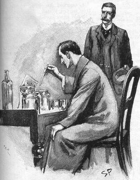 Sherlock-Holmes-Experimenting-Watson-by-Sidney-Paget-1893.jpg