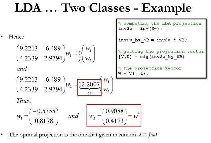 Solving Decimal eq for Eigen vectors LDA vanishing_PicOfSlide.jpg