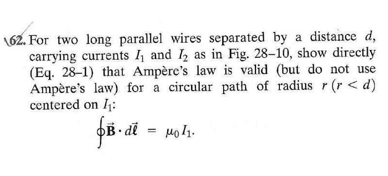 Ampere's circuital law problem | Physics Forums