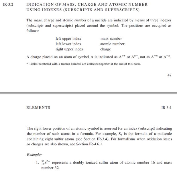 Atomic Symbol Notation Question Physics Forums