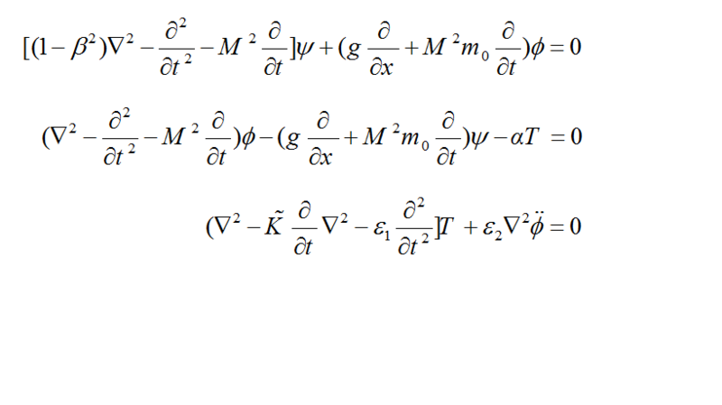 Laplace or Fourier Transform to solve a system of partial