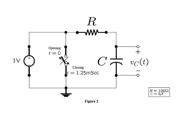 finding voltage in circuit with capacitors  sequential