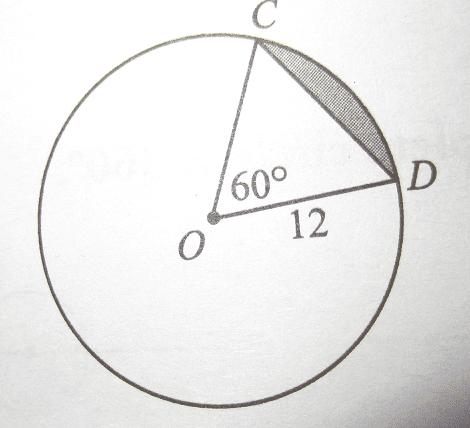 perimeter of a triangle formula perimeterarea of shaded region within a circle physics forums