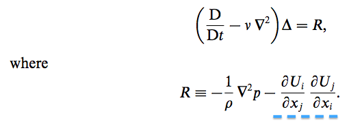 Divergence of the Navier-Stokes Equation | Physics Forums